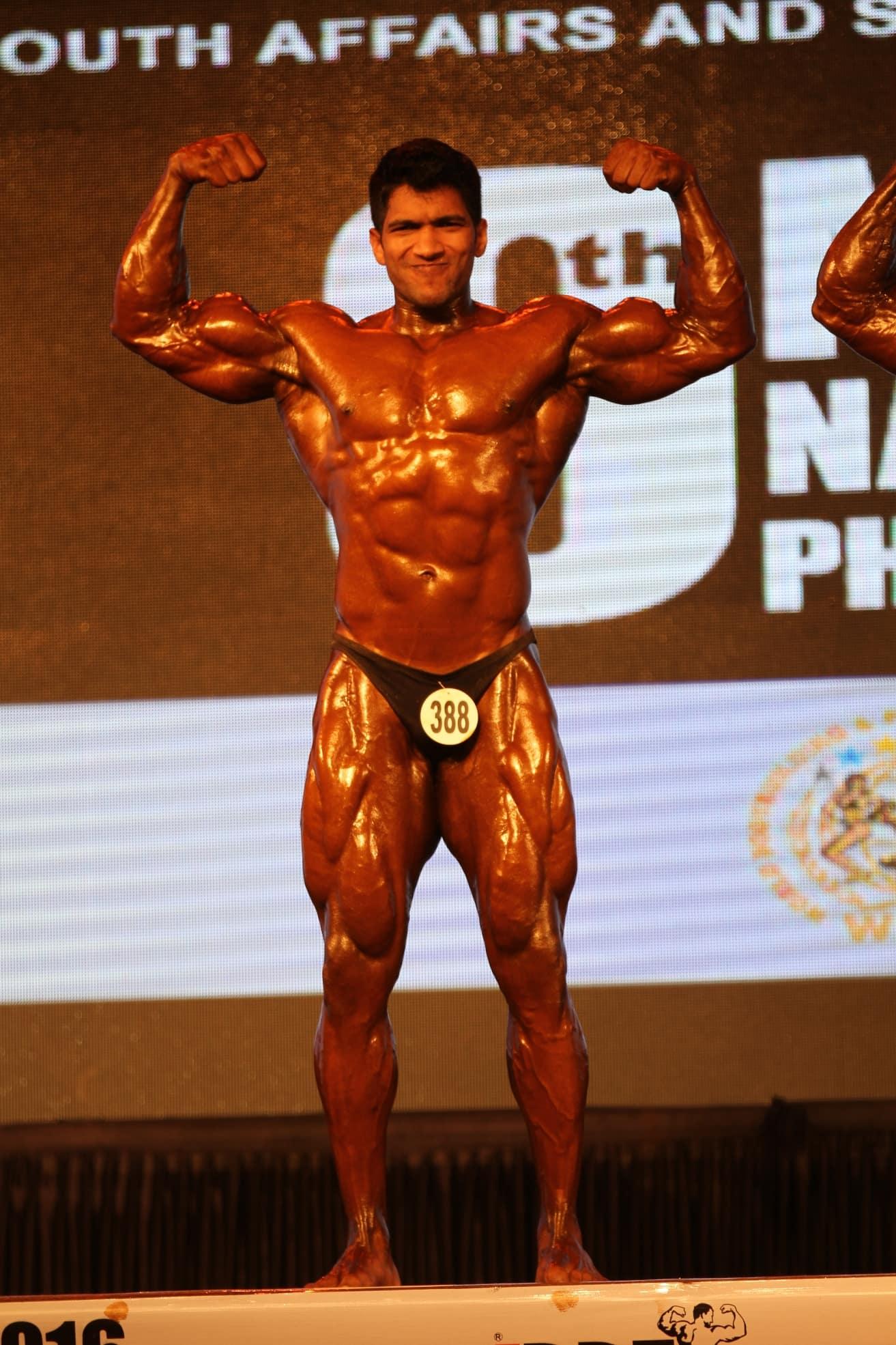Sagar kate at bodybuilding event 1