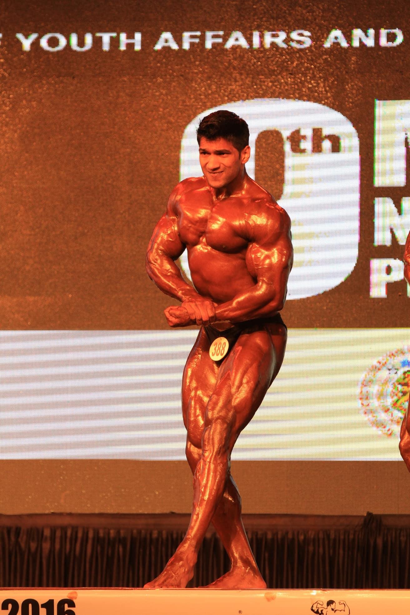 Sagar kate at bodybuilding event 2