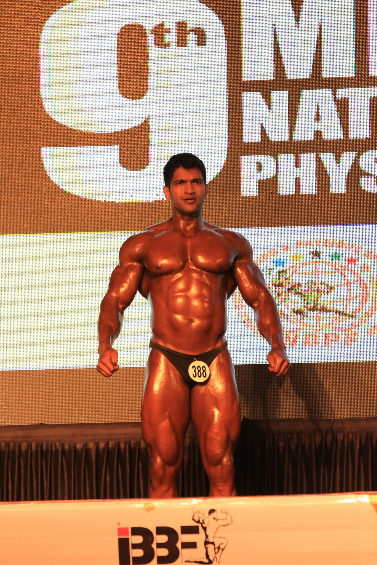 Sagar kate at bodybuilding event 3