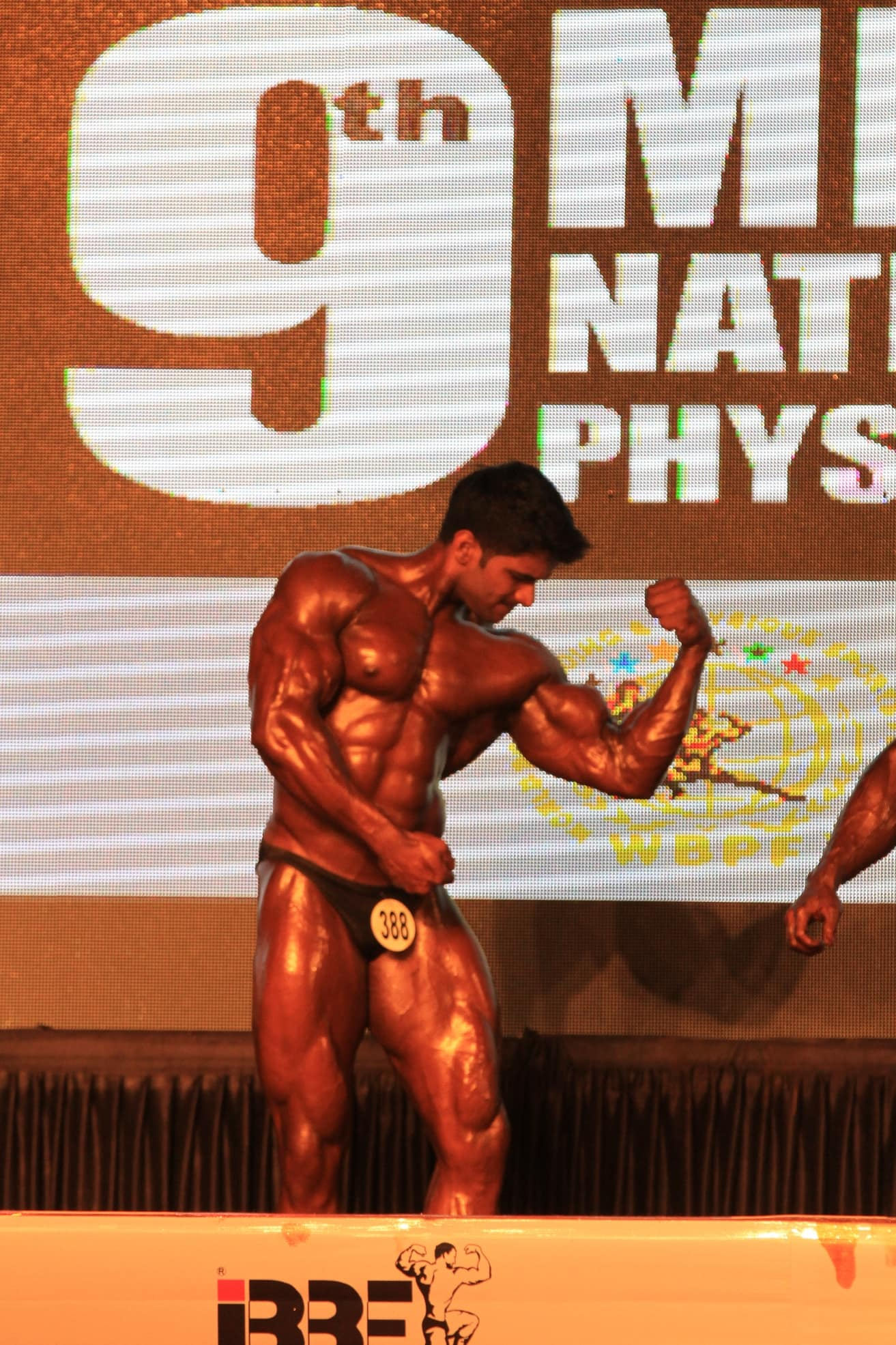 Sagar kate at bodybuilding event 4